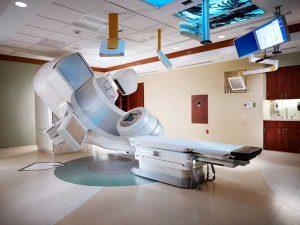 Лучевая терапия уничтожает раковые клетки в молочной железе
