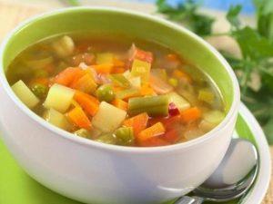 Супы для кормящей мамы