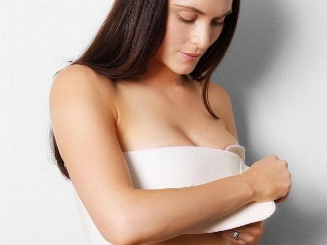 Как перетянуть грудь